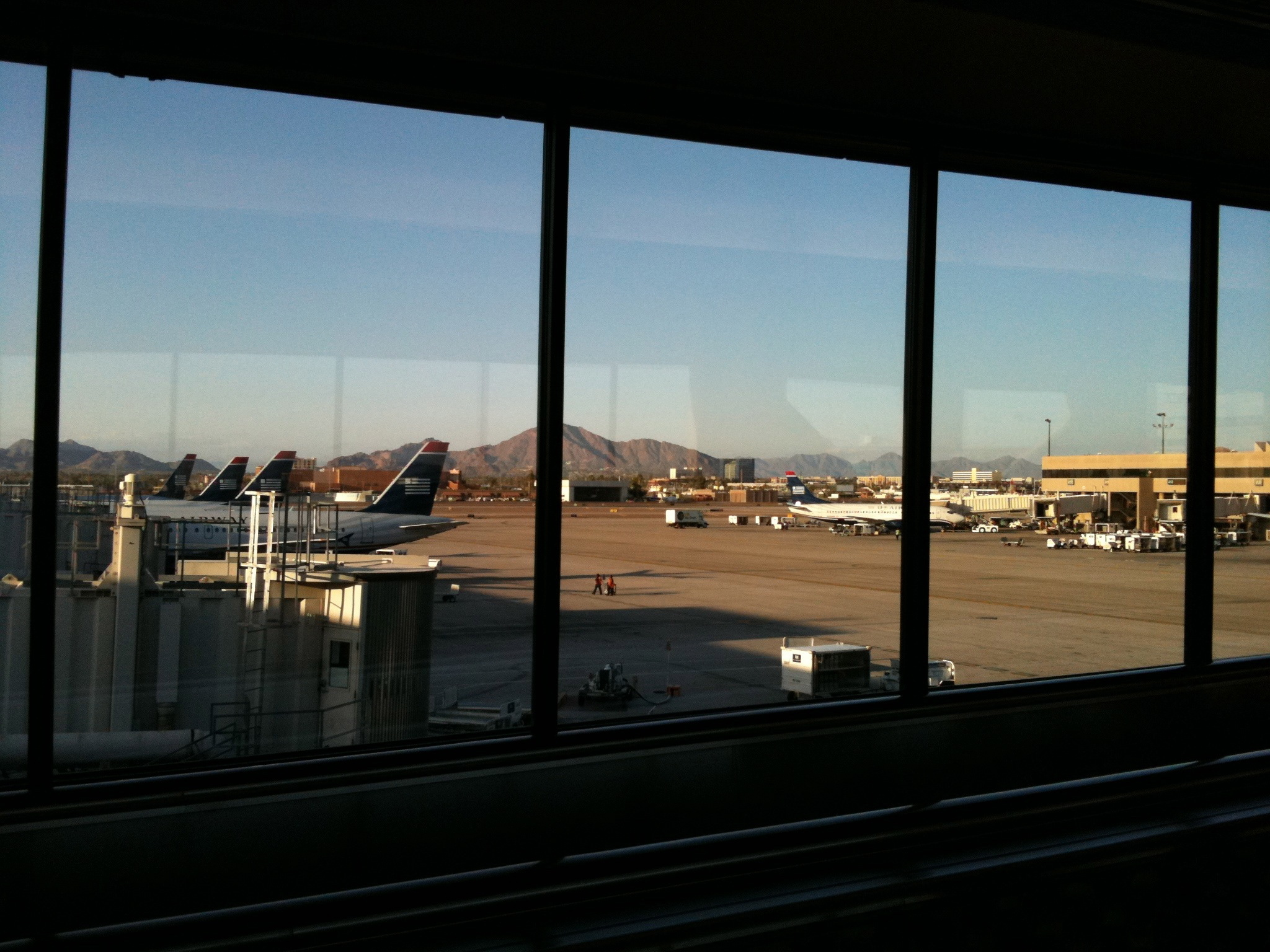 Healthy Airport Eating Continued in Arizona…
