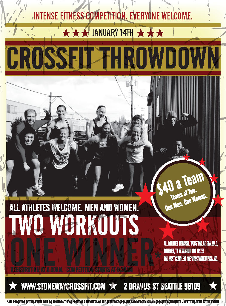 Seattle's StoneWay CrossFit is Hosting A Throw Down!