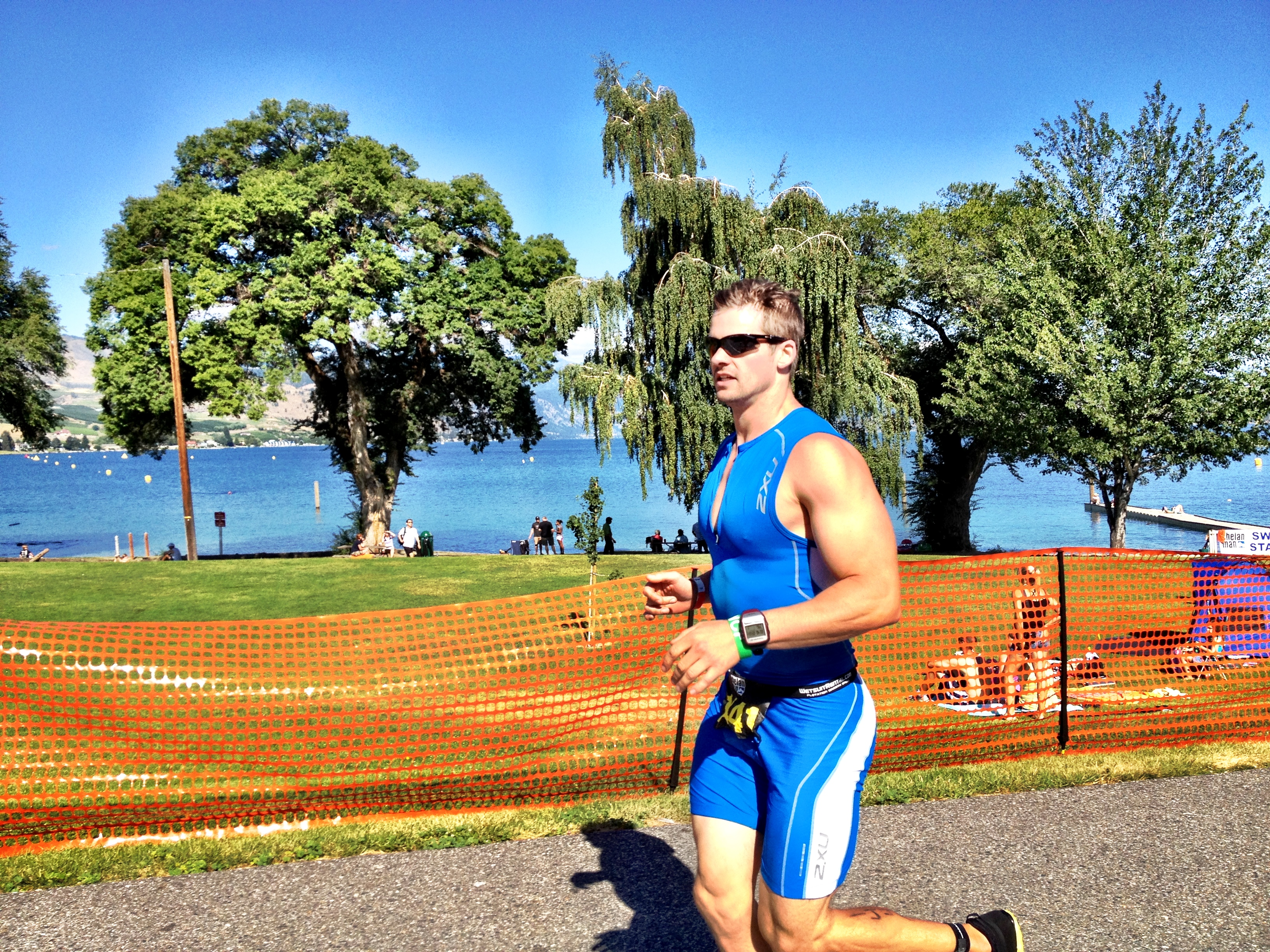 What I Learned from The ChelanMan Half Ironman