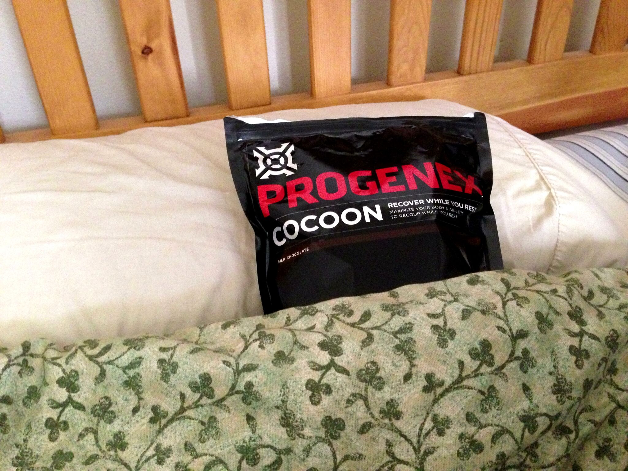 Progenex in my bed