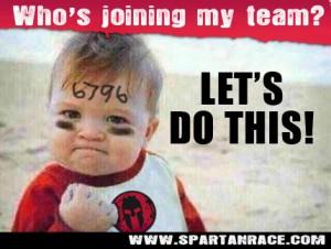 spartan race baby
