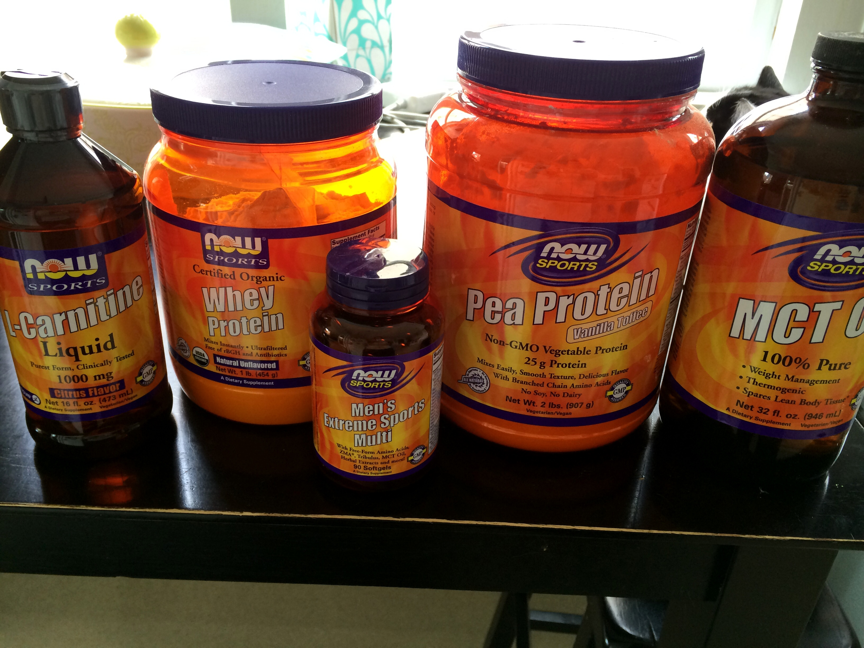 Great Sports Supplements at a Great Price… Now Foods