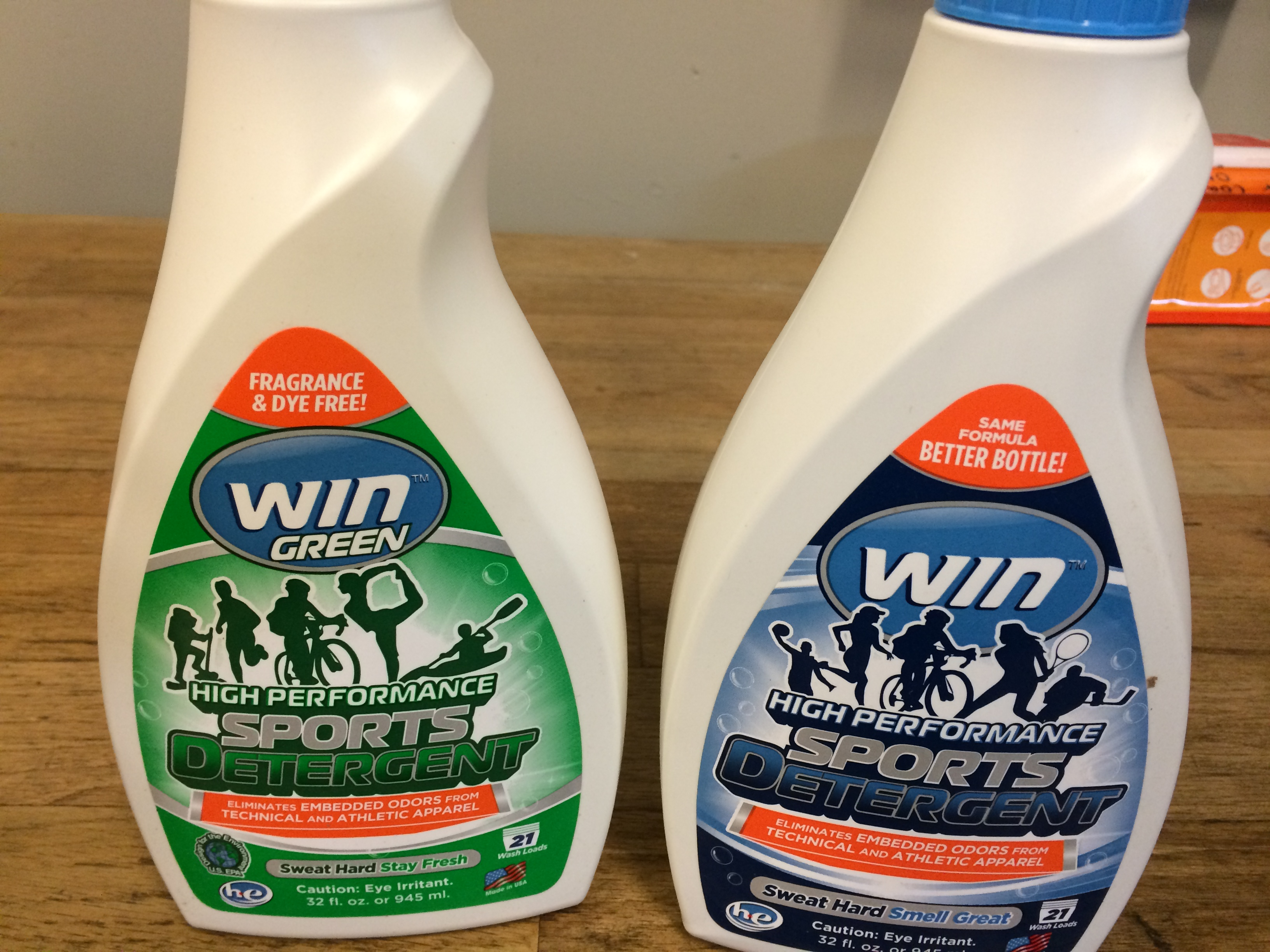 Finally a way to get your sweaty clothes really clean… WIN!