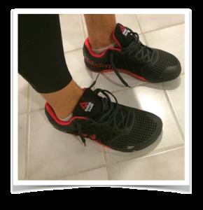 Reebok CrossFit Nano 4 on my feet