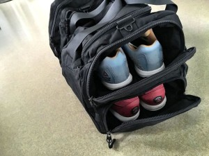King Kong Gym Bag Durable Material Two Shoe Compartments