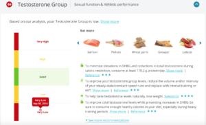 InsideTracker free testosterone