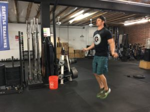 Jumping with Urban Strength Speed Rope