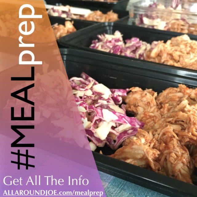 Meal Prep Sunday – BBQ Chicken Slaw & Cheddar Broccoli & Chicken Bake