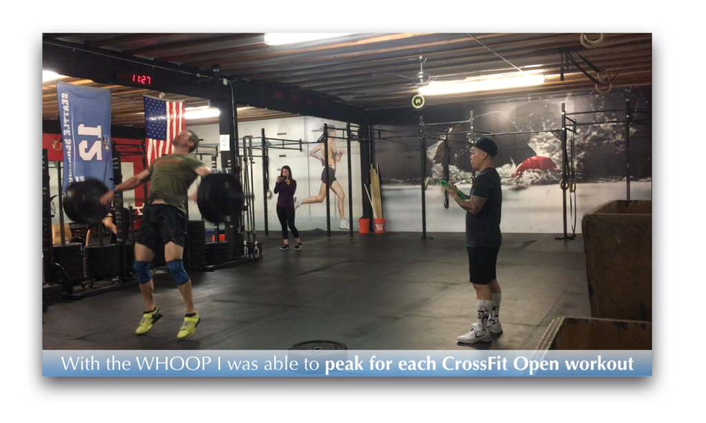 Joe Bauer (All Around Joe) doing CrossFit Open workout at StoneWay CrossFit