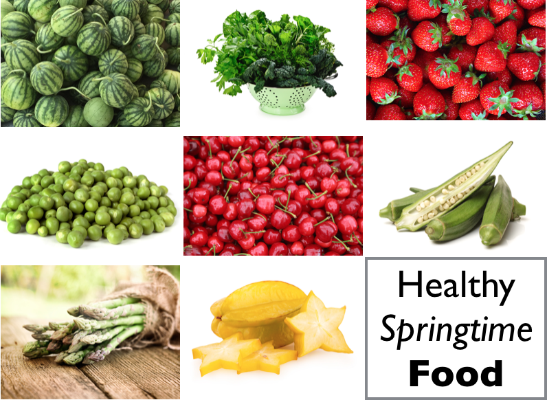 Delicious Healthy Springtime Food To Look Forward To