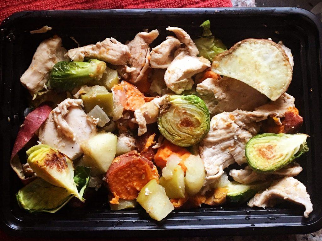 Chicken Apple Sauté