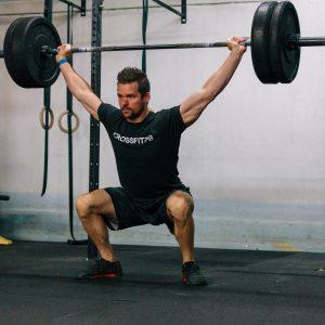 Overhead squat - getting hot