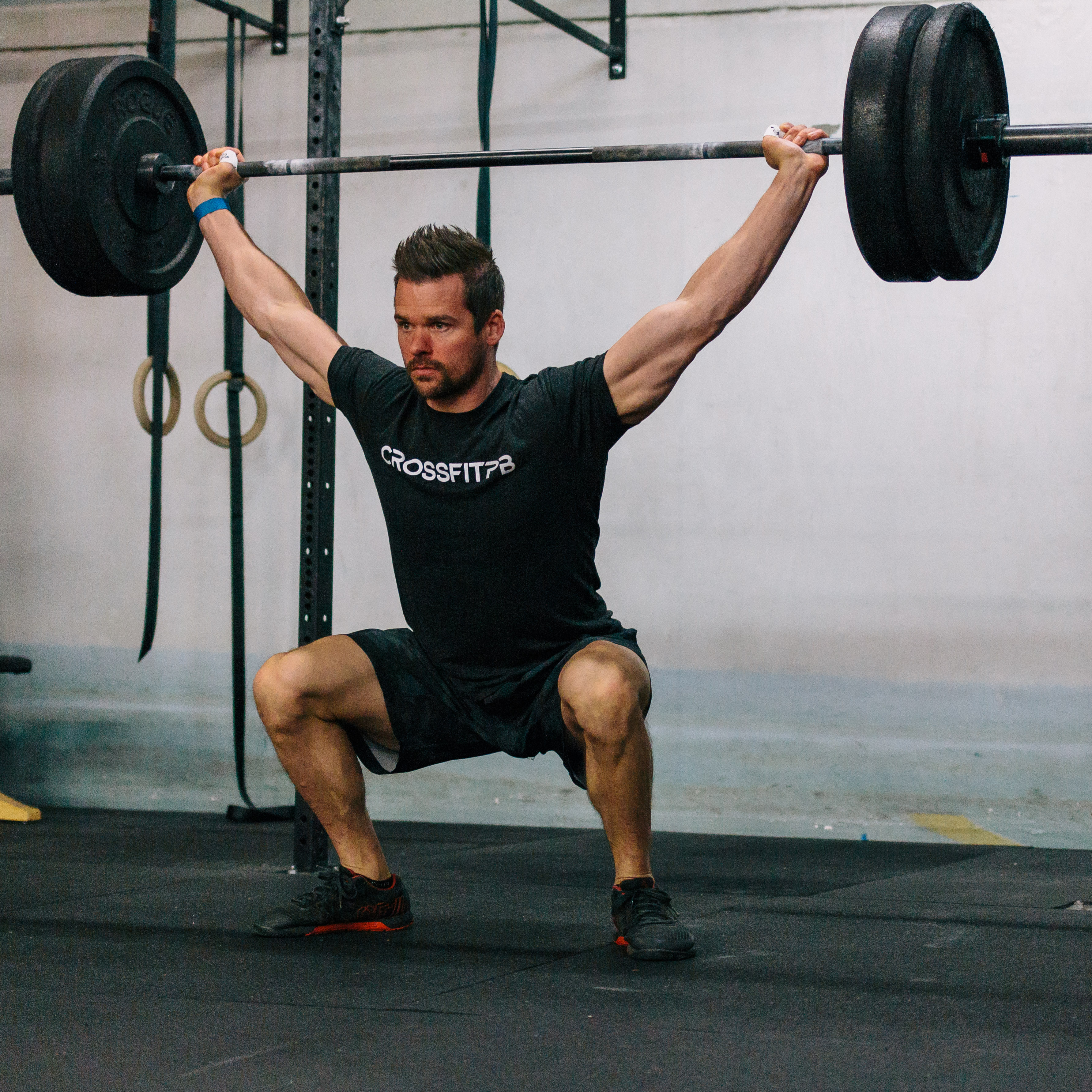 Overhead squat - getting hot