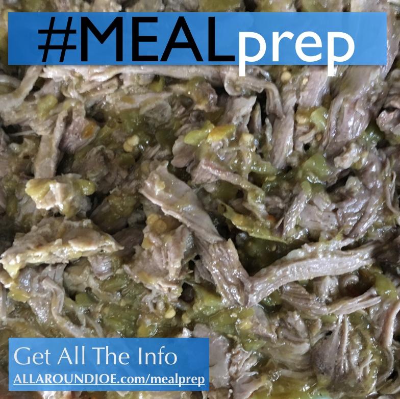 Meal Prep: Hatch Chili Slow Cooker Pork