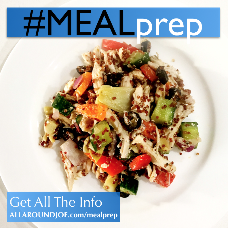 Meal Prep: Quinoa Greek Salad – Salad with an Energy BOOST