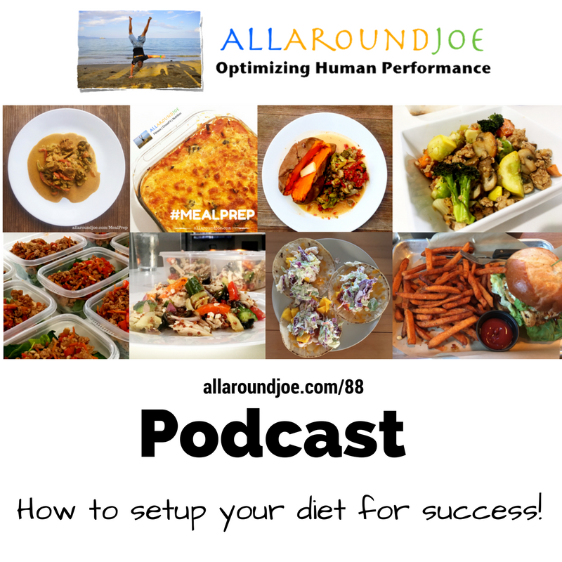 AAJ 088: How to setup your diet for success