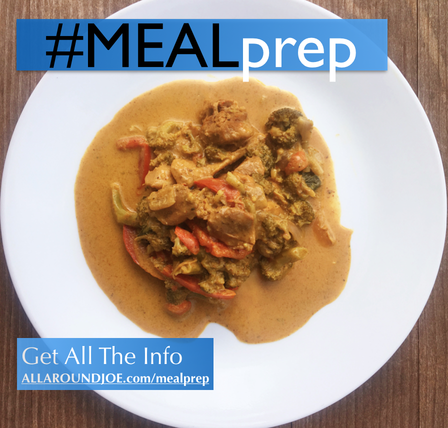 Meal Prep: Thai Coconut Curry Chicken