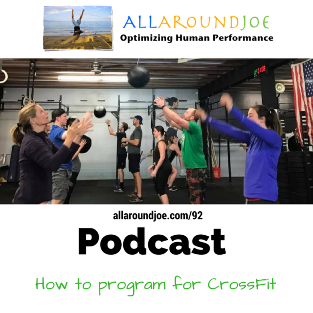 AAJ 092: How to program for CrossFit