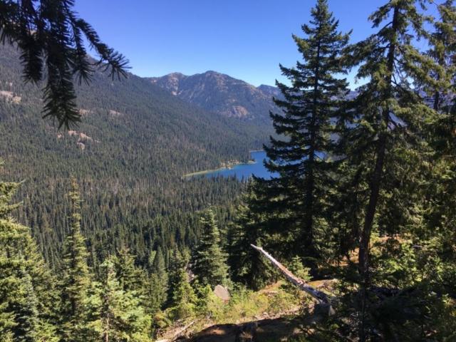 Waptus Lake (maybe) on Stevens Pass to Snoqualmie Pass adventure