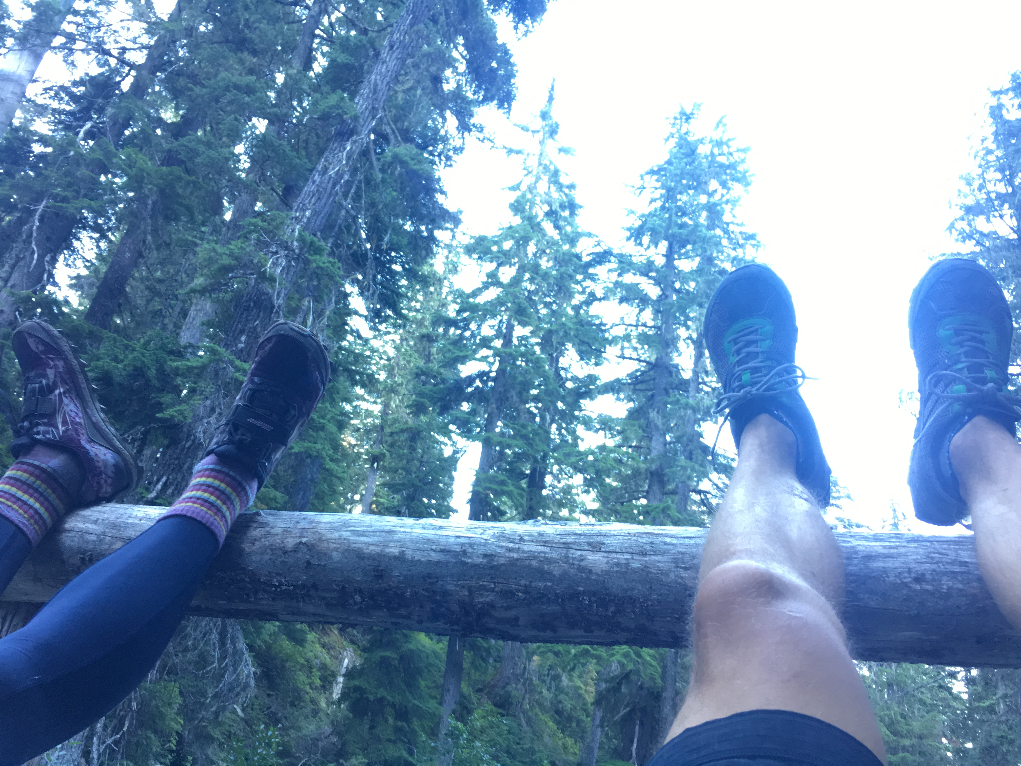 Another leg drain on Stevens Pass to Snoqualmie Pass adventure