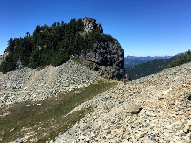 A Little Ridgeline Walking on Stevens Pass to Snoqualmie Pass hike