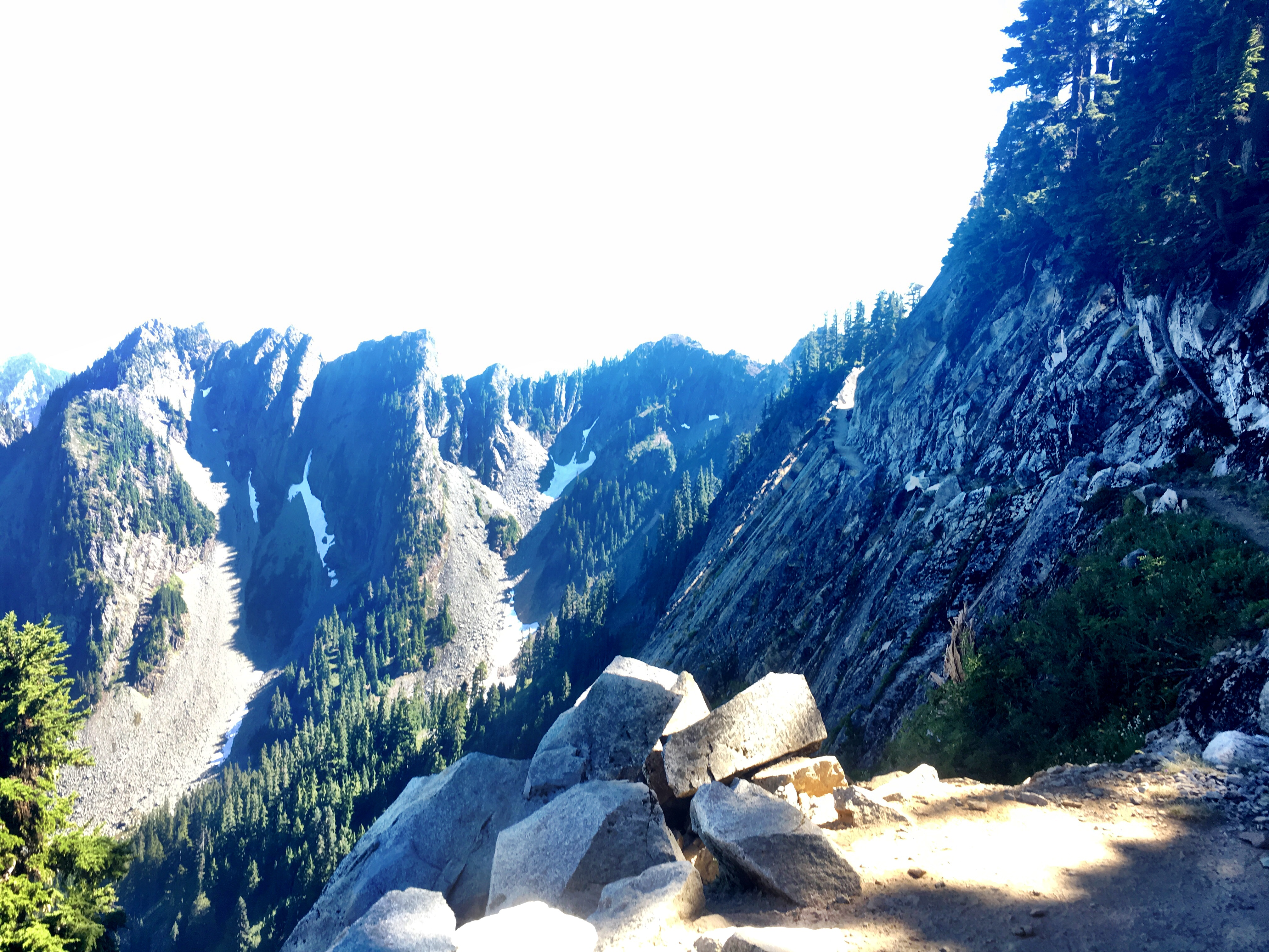Kendal Catwalk on Stevens Pass to Snoqualmie Pass