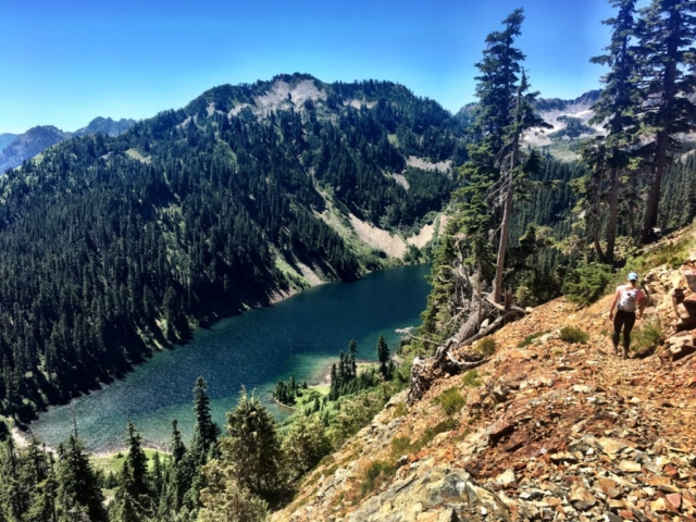 Joe Lake on Stevens Pass to Snoqualmie Pass adventure