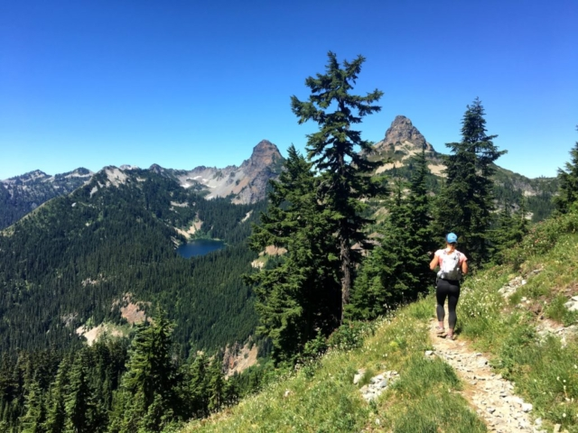 Joe Lake Stevens Pass to Snoqualmie Pass