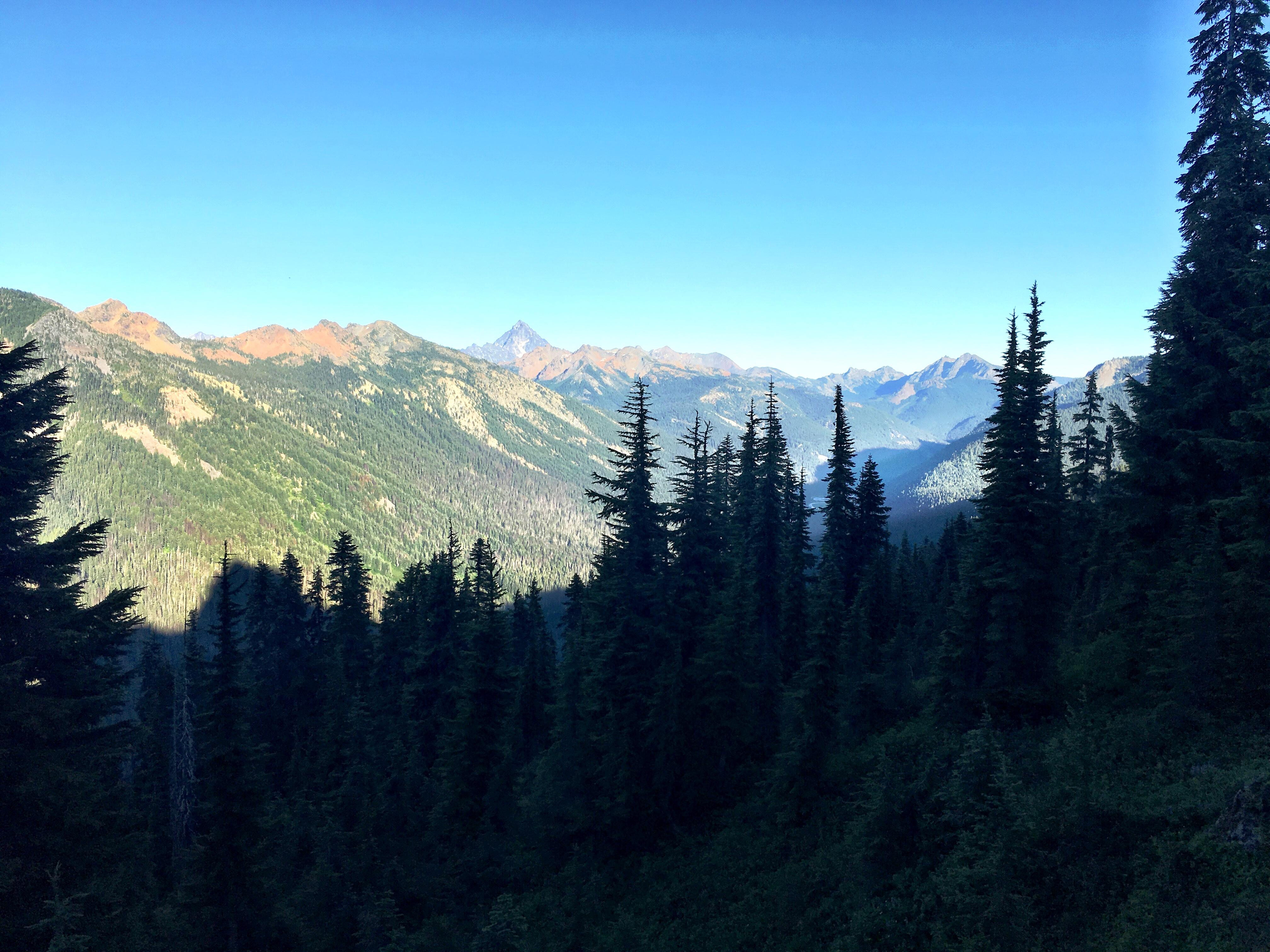 Mountain Views on Stevens Pass to Snoqualmie Pass Adventure
