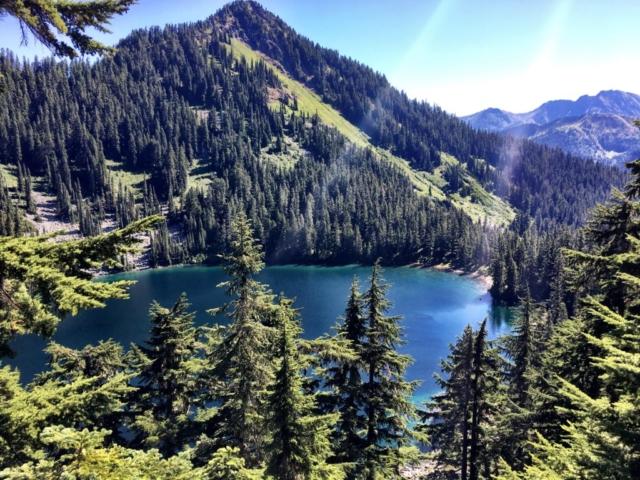 Surprise Lake on Stevens Pass to Snoqualmie Pass adventure