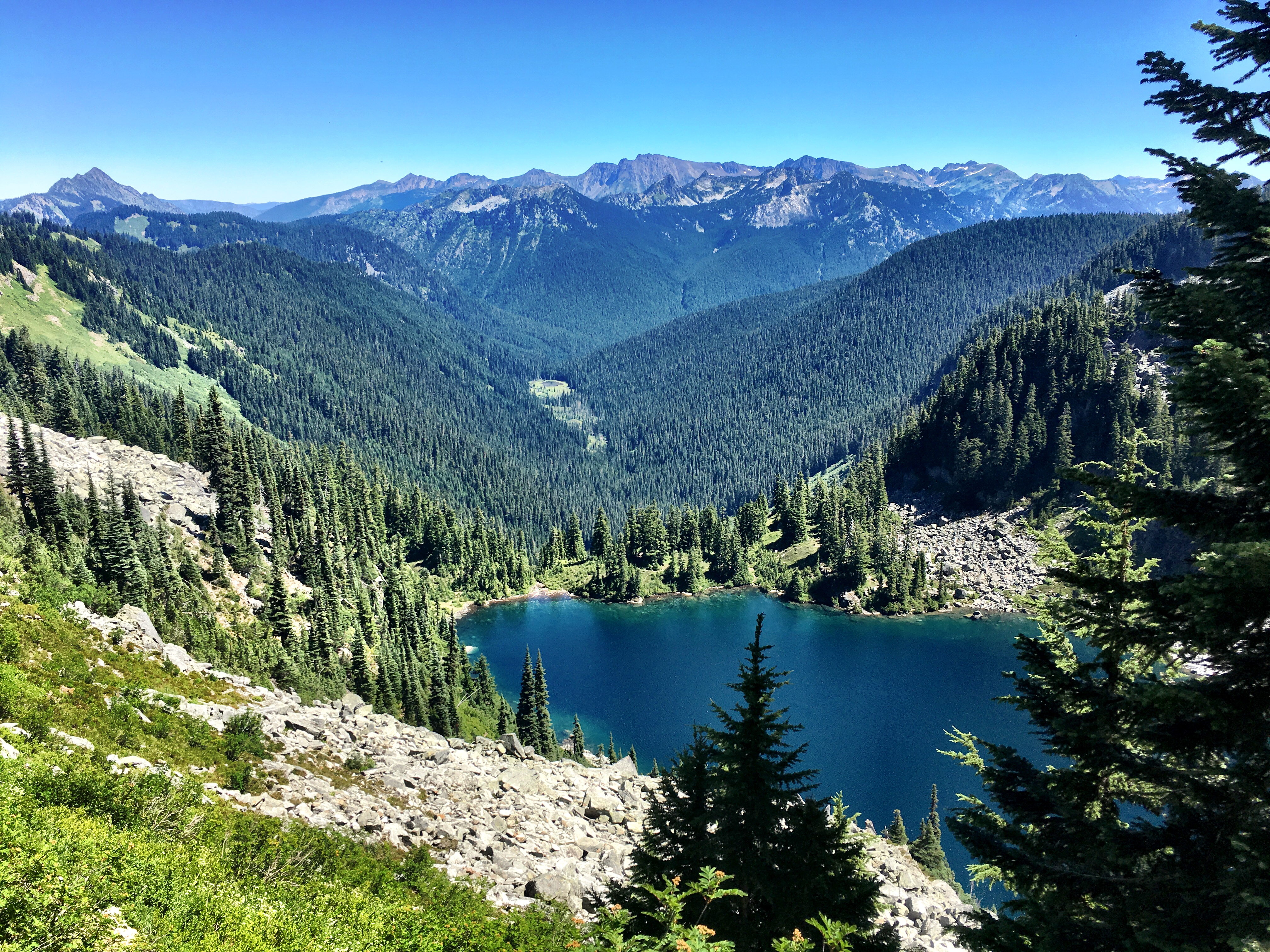 Surprise Lake (again) on Stevens Pass to Snoqualmie Pass adventure