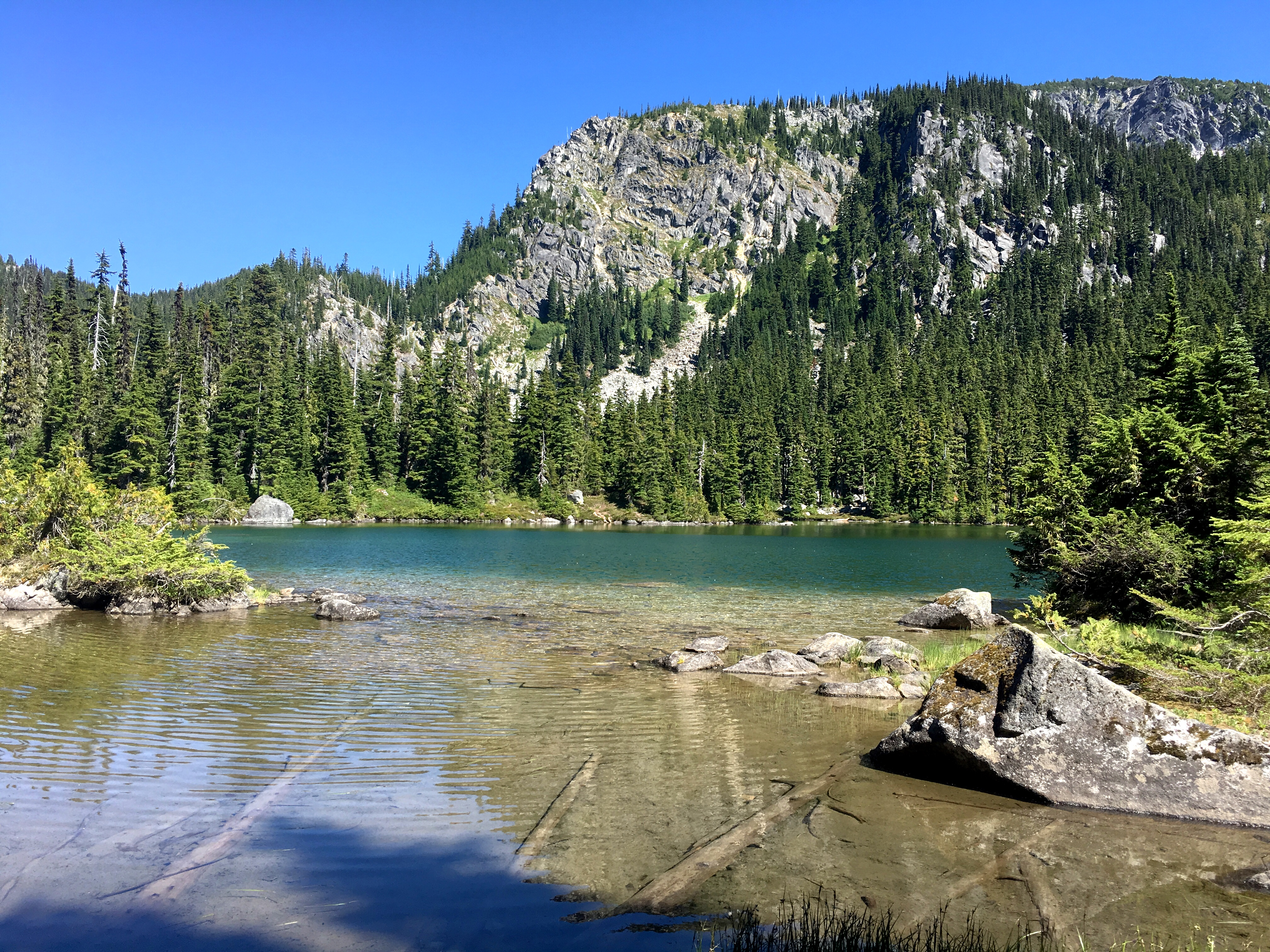 Deception Lakes on Stevens Pass to Snoqualmie Pass adventure