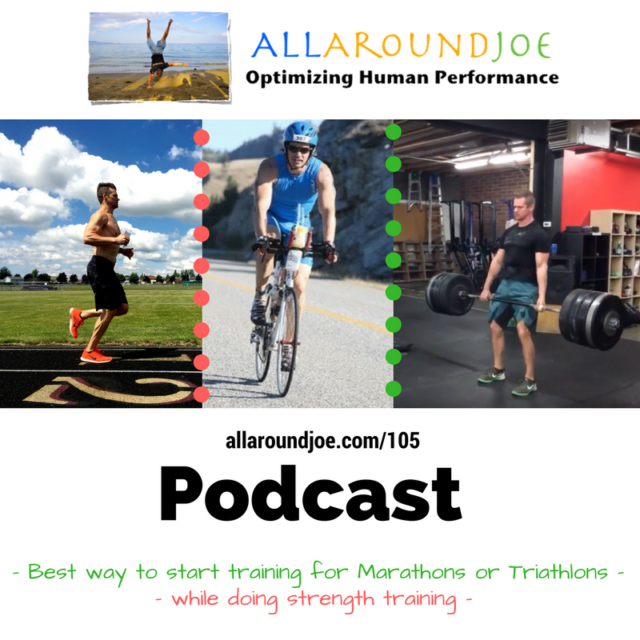 AAJ 105: Best way to start training for Marathons or Triathlons while doing strength training?