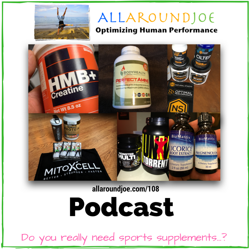 AAJ 108- Do you really need sports supplements...-