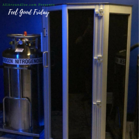 Feel Good Friday - Halo Sport and Cryotherapy with some cheddar broccoli with Joe Bauer