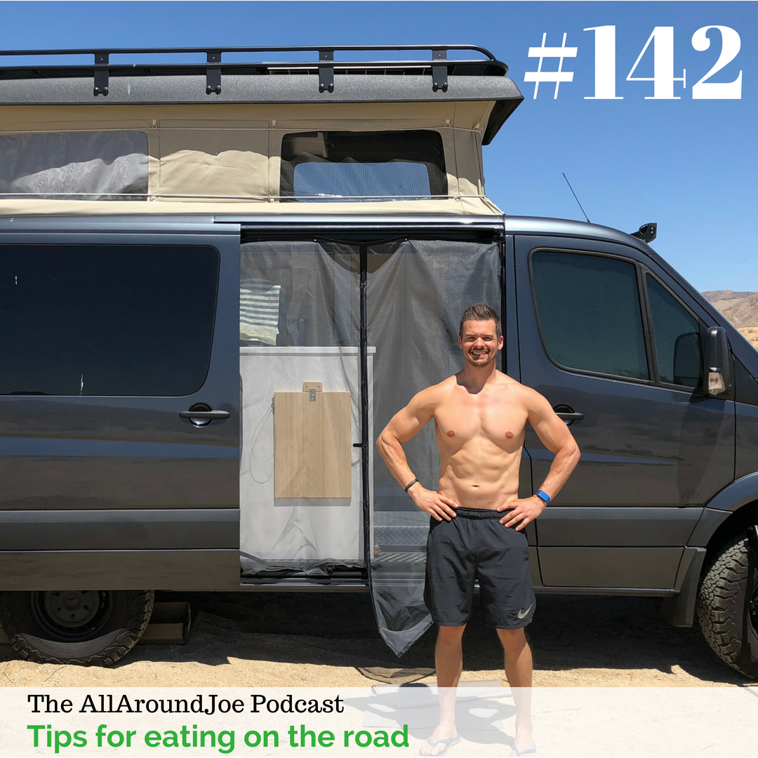 AAJ 142: Tips for eating on the road with Joe Bauer