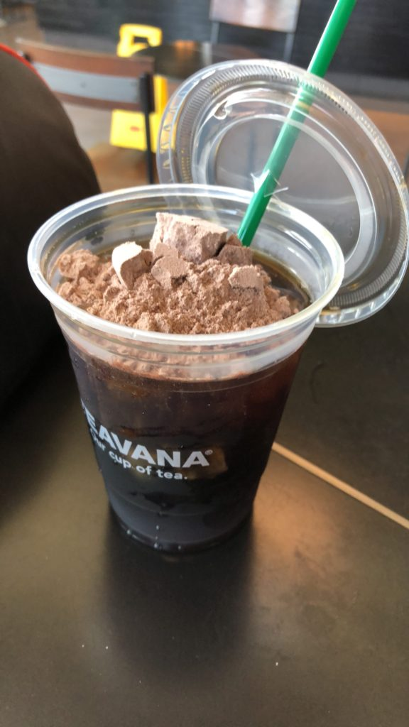 Keto Collagen in my Starbucks coffee