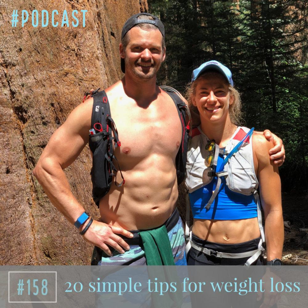 20 simple tips for weight loss – Ep. 158