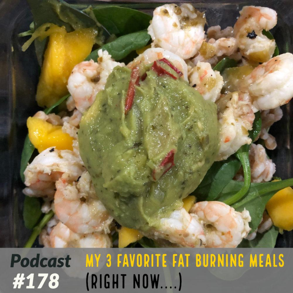 AAJ 178: My 3 Favorite Fat Burning Meals (right now) by Joe Bauer