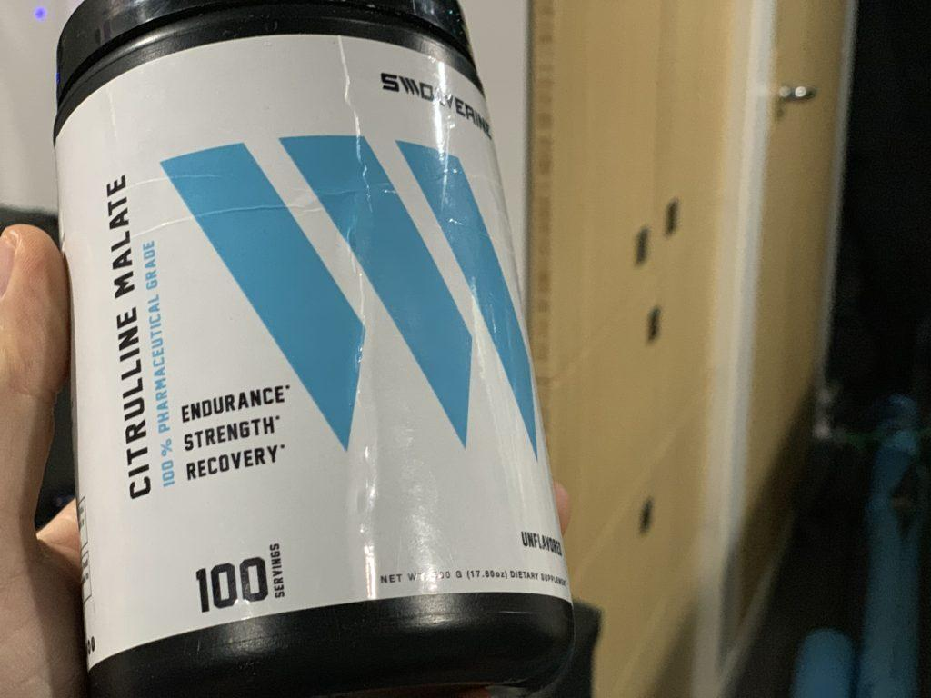 Citrulline Malate by Swolverine for getting the pump and blood flow