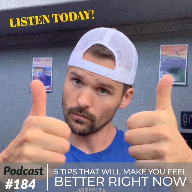 AAJ 184: 5 tips that will make you feel better right now by Joe Bauer