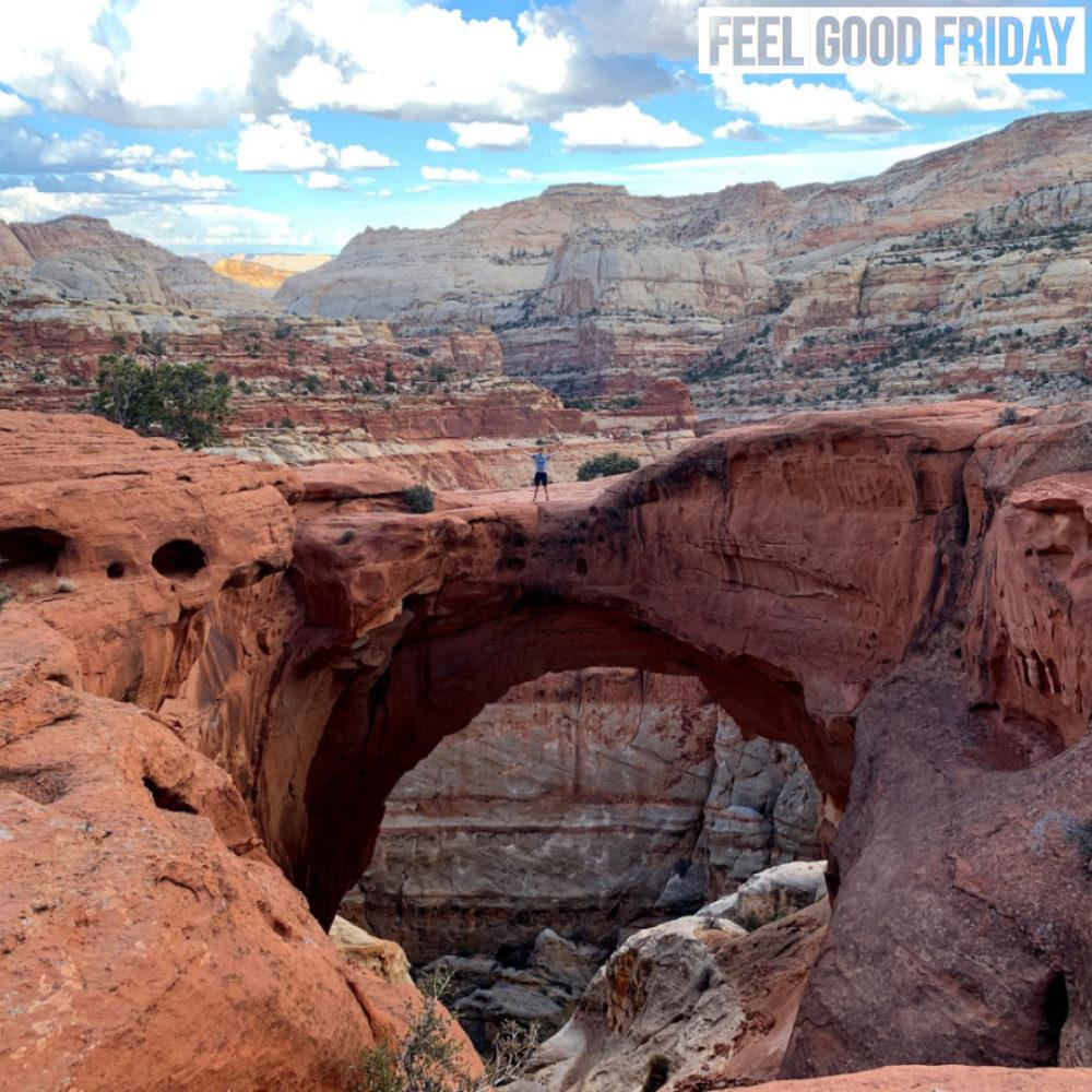 Feel Good Friday - Mental Toughness - Capitol Reef - Babylon by Joe Bauer of all around joe