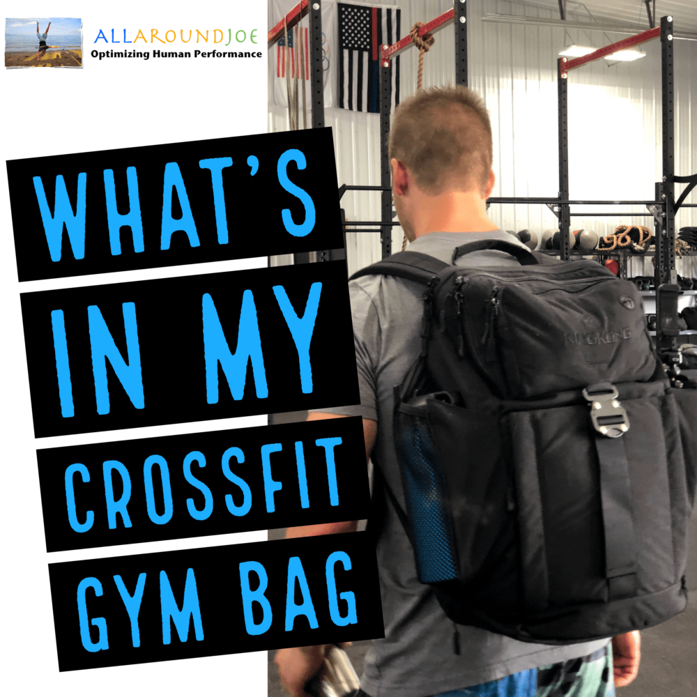 What's In My CrossFit Gym Bag – Ep. 192
