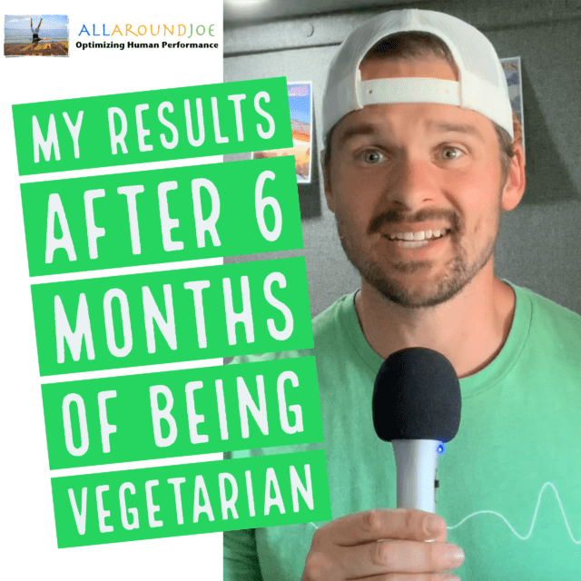 Joe Bauer talking about his 6 months of being vegetarian