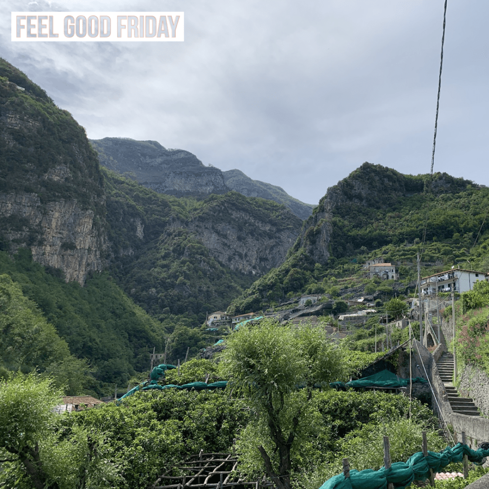Feel Good Friday – Workout Consistency – Ironworks Valley Loop – Amalfi
