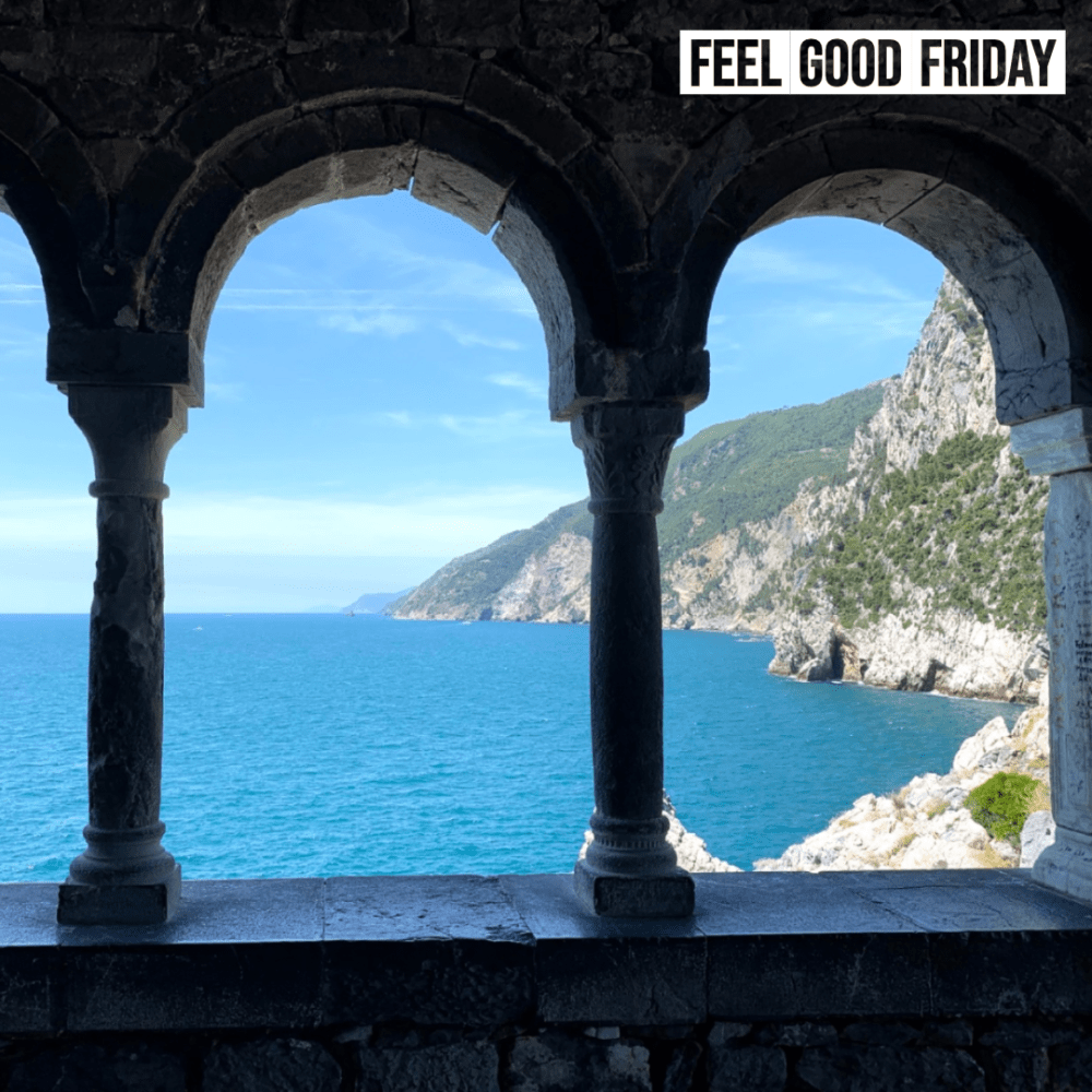 Feel Good Friday - Running Injuries - Cinque Terre - Religious Conflict by Joe Bauer