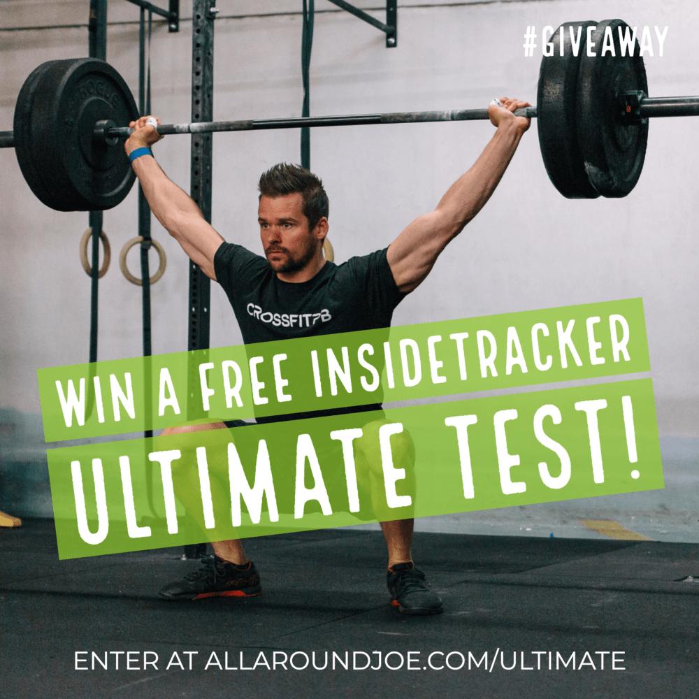 InsideTracker Ultimate Test Giveaway by Joe Bauer doing a snatch