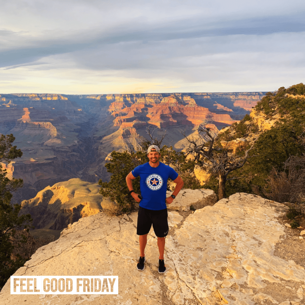 Feel Good Friday - Massive Change - Creatine by Joe Bauer at the Grand Canyon