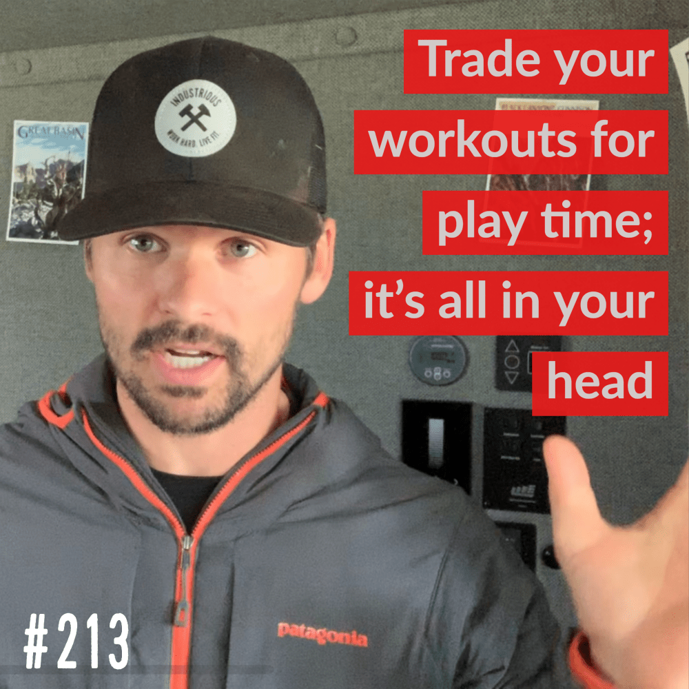 AAJ-213: Trade your workouts for play time by Joe Bauer