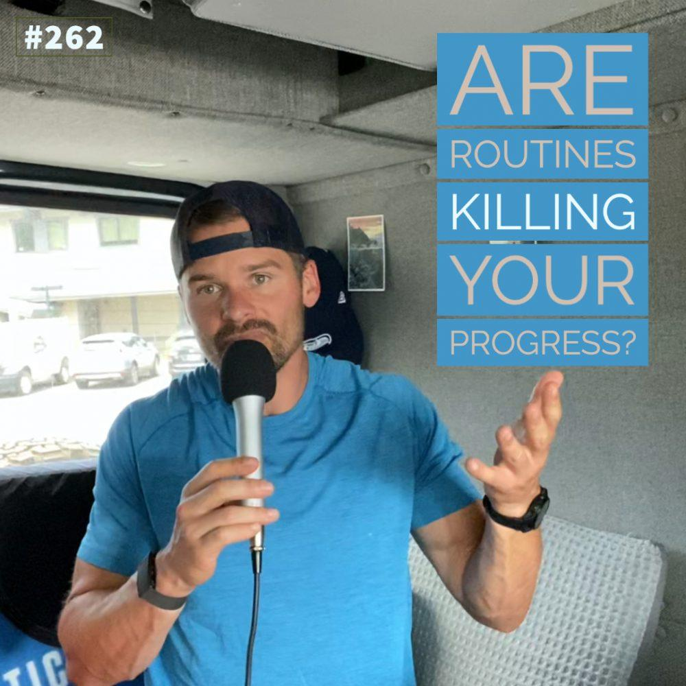 AAJ 262_ Are routines killing your progress? by Joe Bauer in the van studio USA